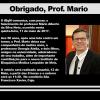 Nota de falecimento – Professor Mario Alberto da Silva Neto