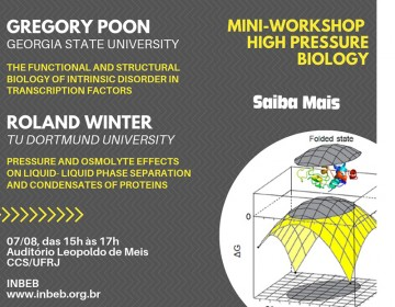 MINI-WORKSHOP HIGH PRESSURE BIOLOGY