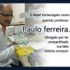 O IBqM homenageia nosso querido professor Paulo ferreira.