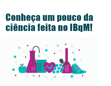 Conheça um pouco da ciência feita no IBqM!