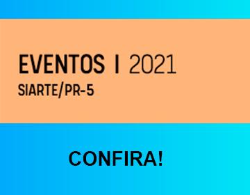 Se programe, se organize e participe dos Eventos de Extensão de 2021!!!